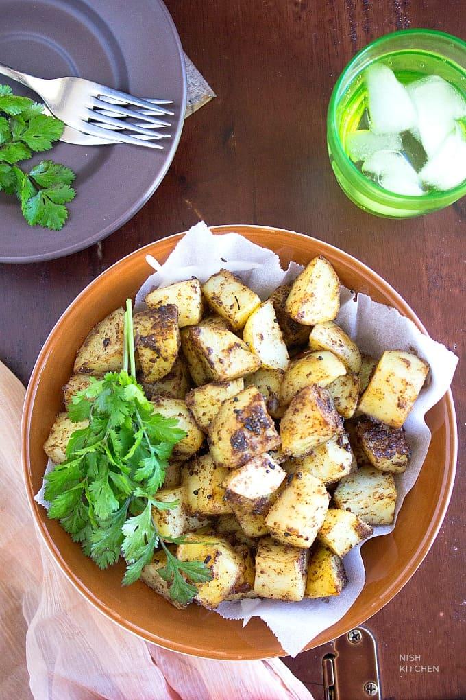 bombay roast potatoes recipe video