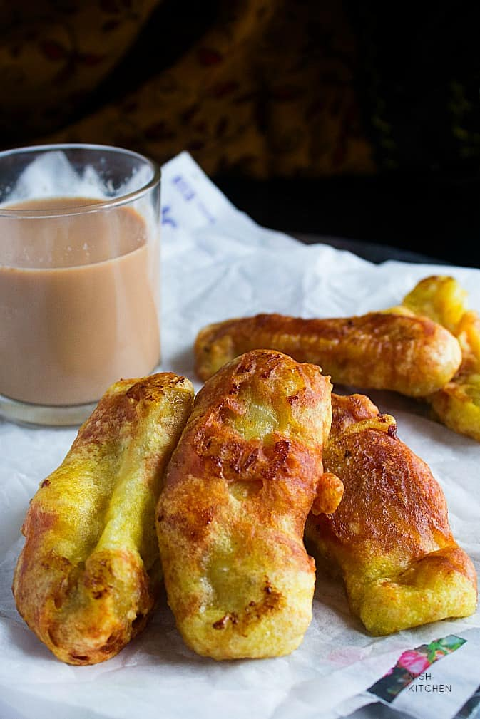 pazham pori or banana fritters
