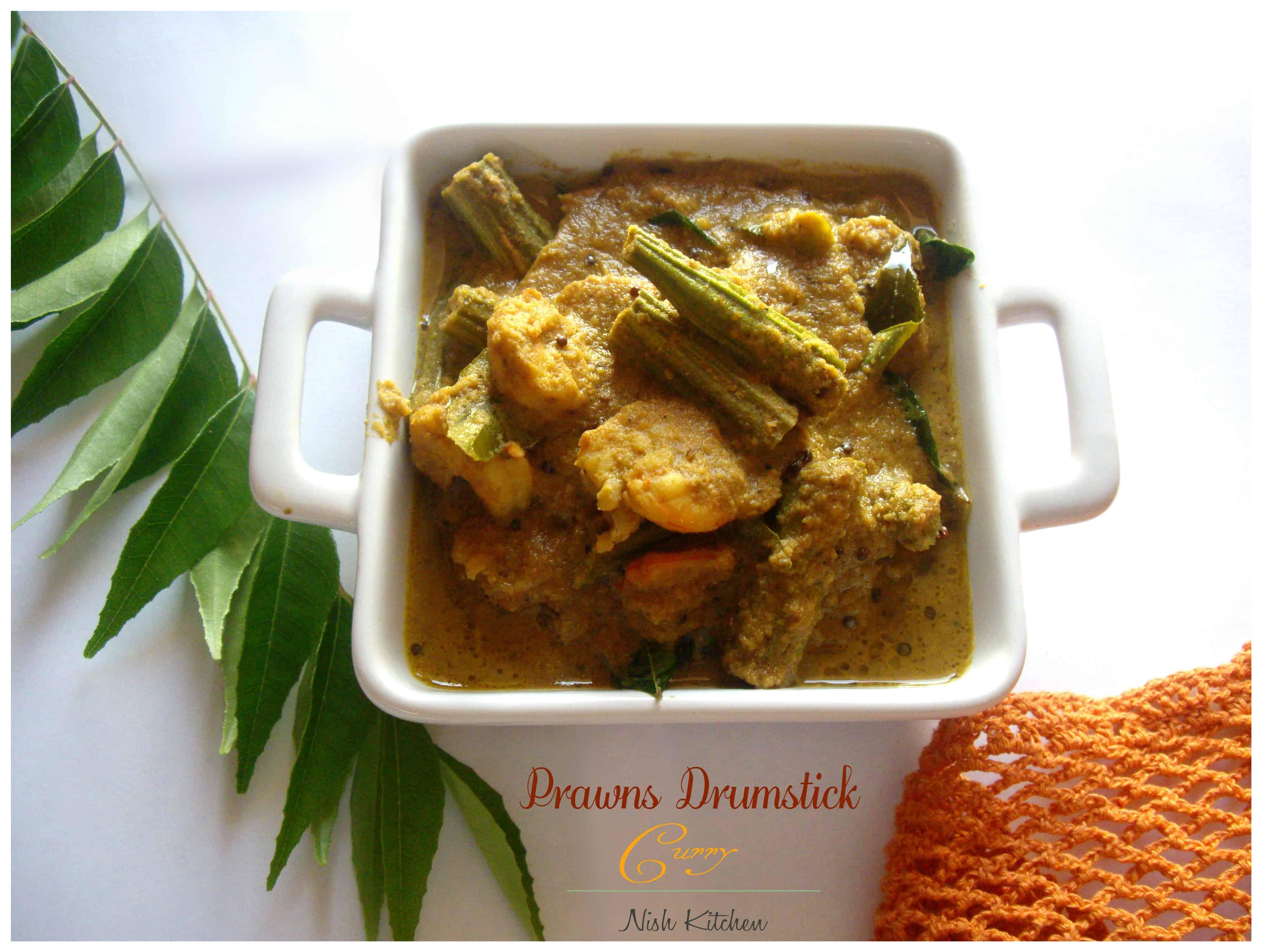 Prawns Drumstick Curry
