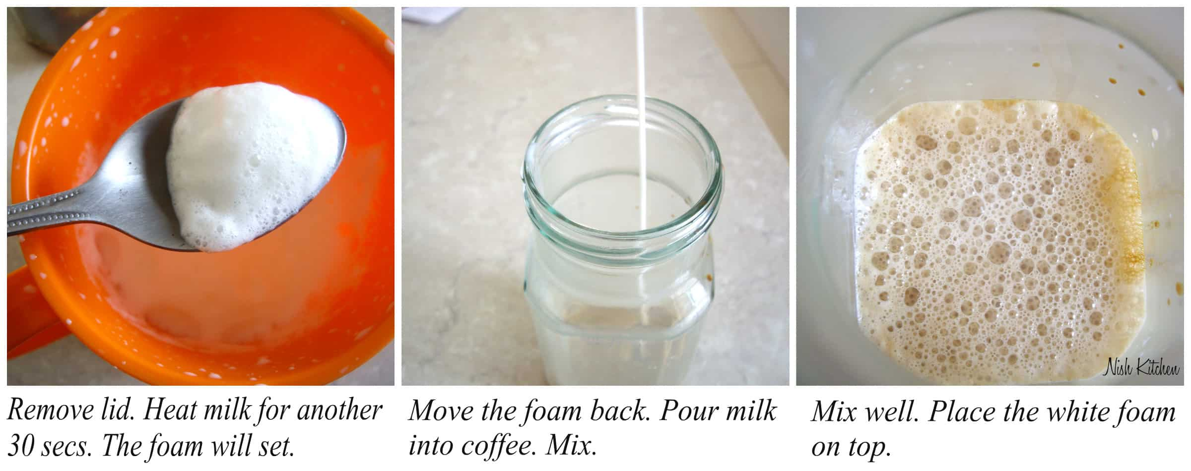 How to make latte 2