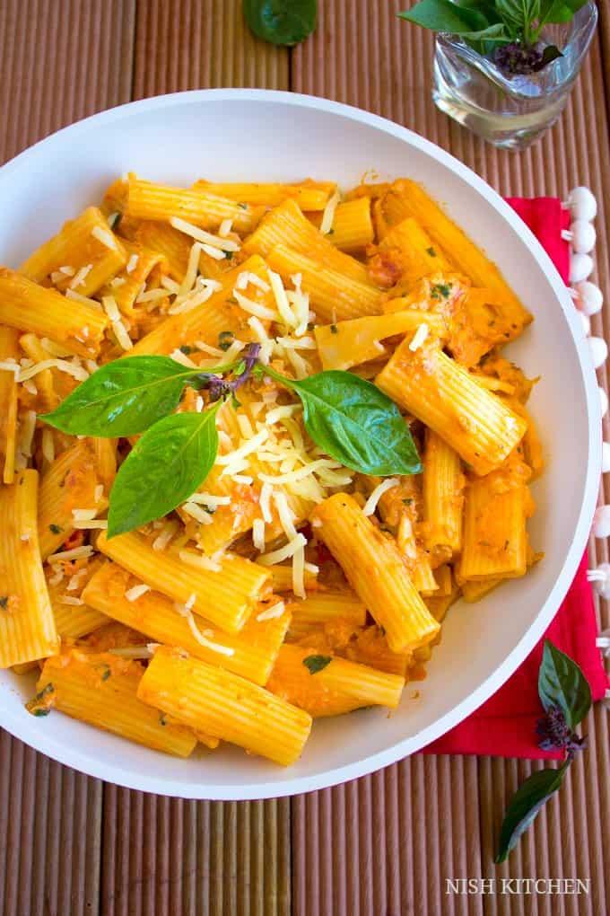 creamy tomato tuna pasta 2