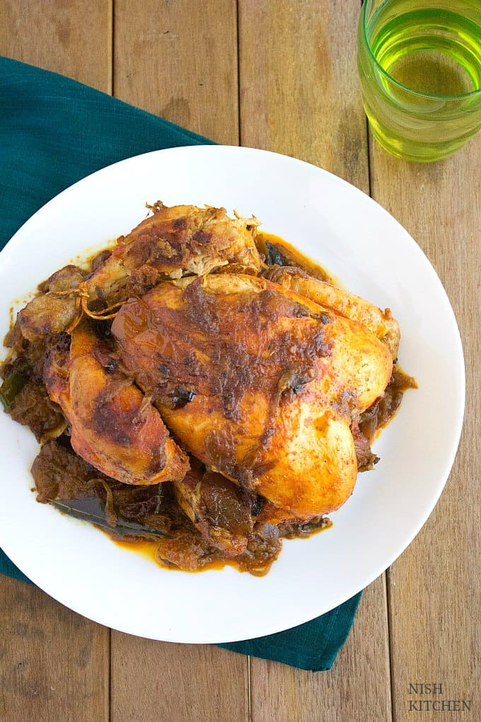 Kozhi Nirachathu Malabar stuffed chicken