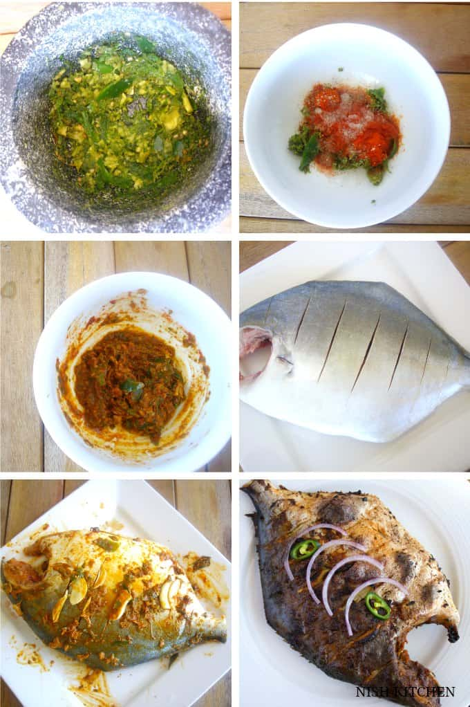 spicy grilled fish recipe