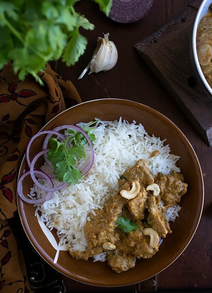 indian chicken korma curry recipe