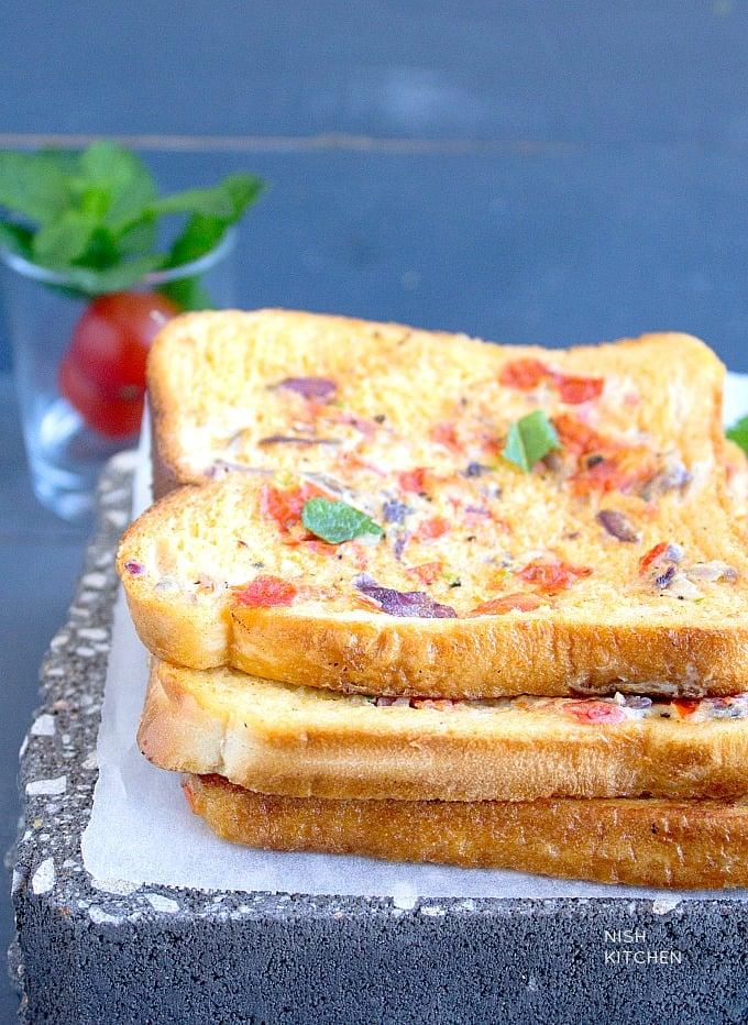 masala french toast recipe