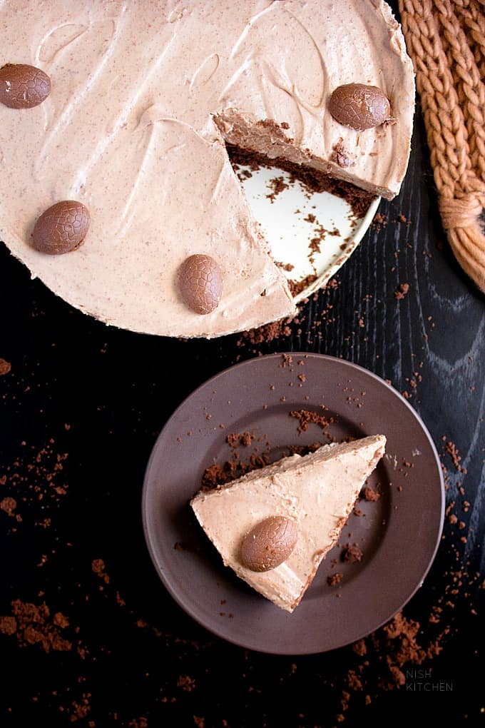 no bake chocolate cheesecake recipe with video