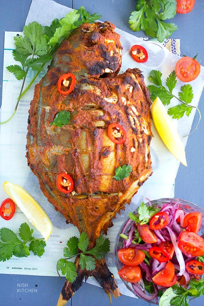 baked tandoori fish recipe with video